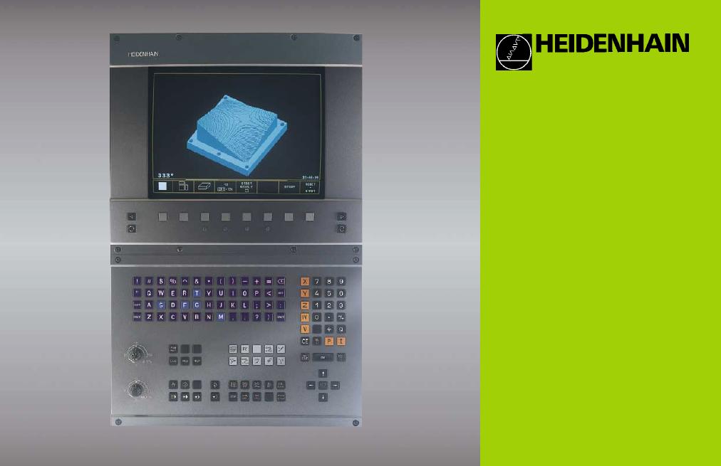 heidenhain tnc 426 280 476 pilot user manual 104 pages also rh manualsdir com HEIDENHAIN Linear Scale HEIDENHAIN CNC Controls