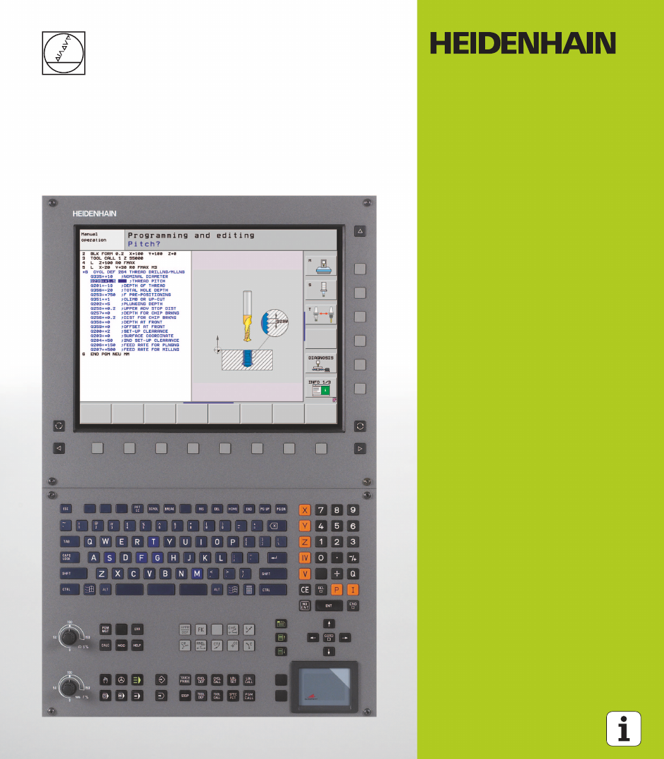heidenhain itnc 530 340 49x 05 cycle programming user manual 497 rh manualsdir com heidenhain nd 530 manual heidenhain itnc 530 manual
