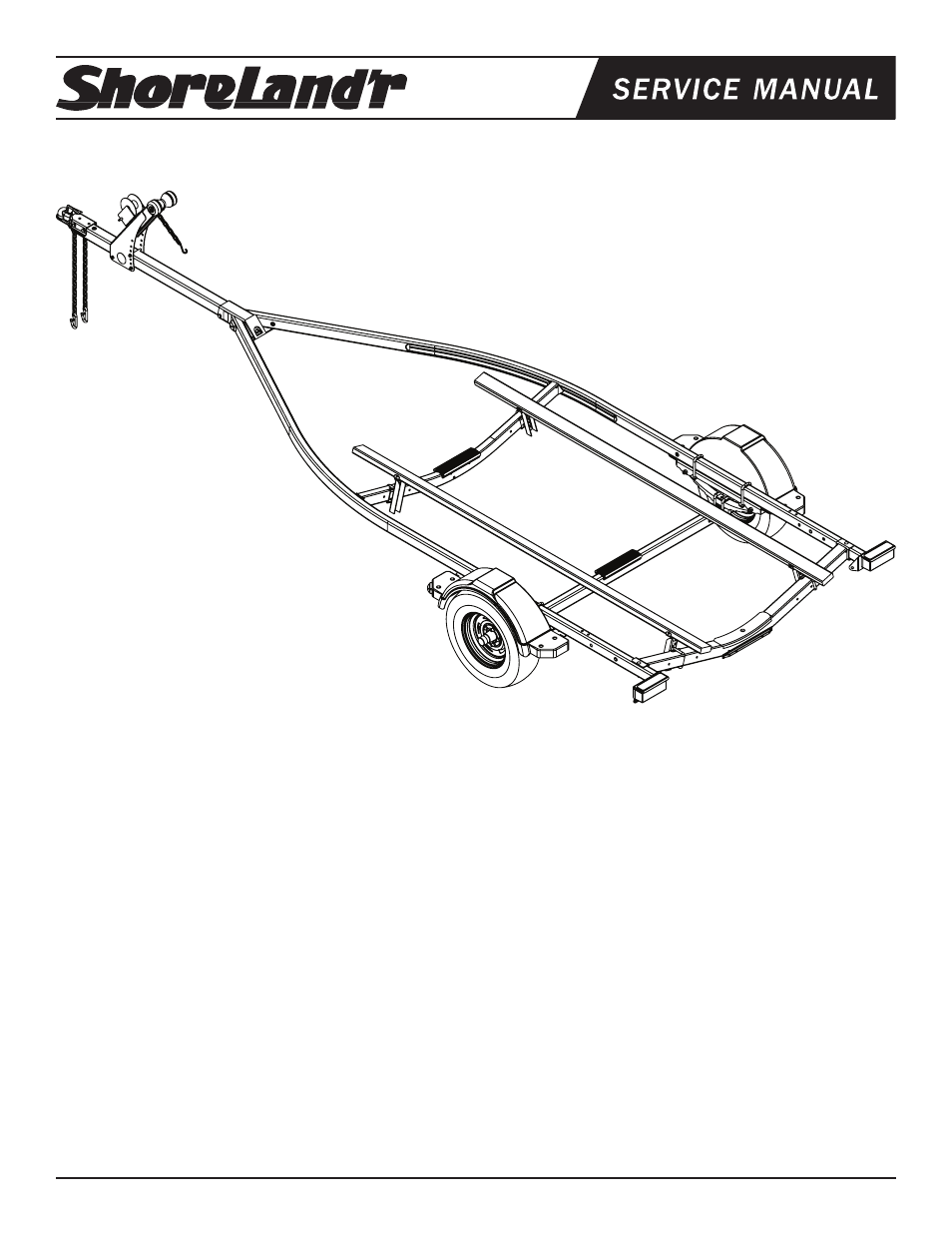 Shorelandr Slv22l V1 User Manual 10 Pages Shorelander Trailer Wiring Harness Background Image