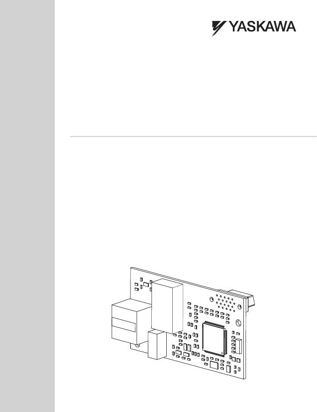 Yaskawa Modbus Tcpip Installation User Manual