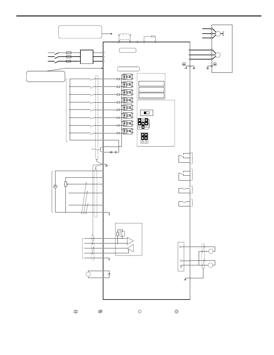 p1000 drive, i.3 electrical installation safety | yaskawa cimr-pu ... yaskawa wiring diagram  manuals directory
