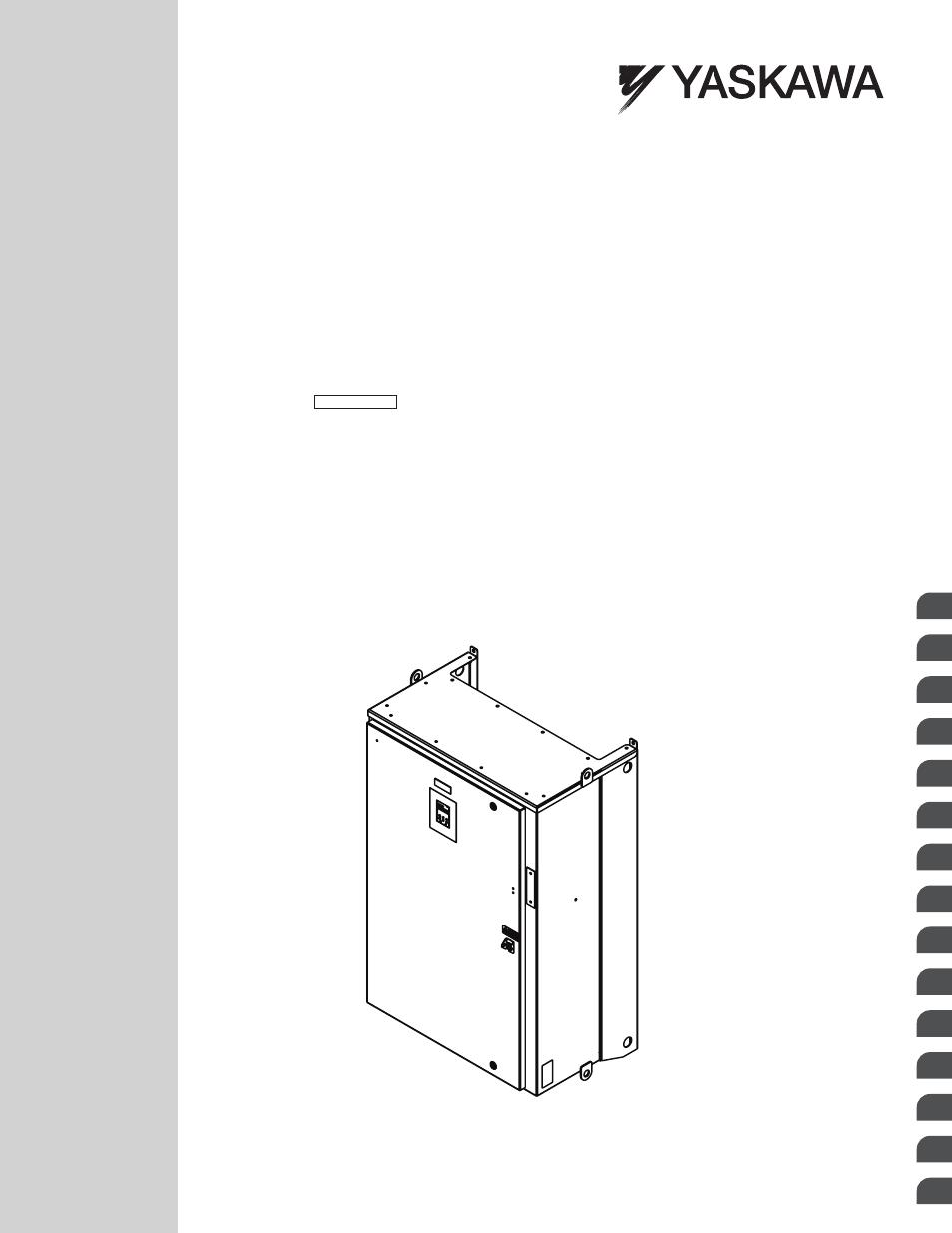 yaskawa ac drive p1000 bypass technical manual user manual