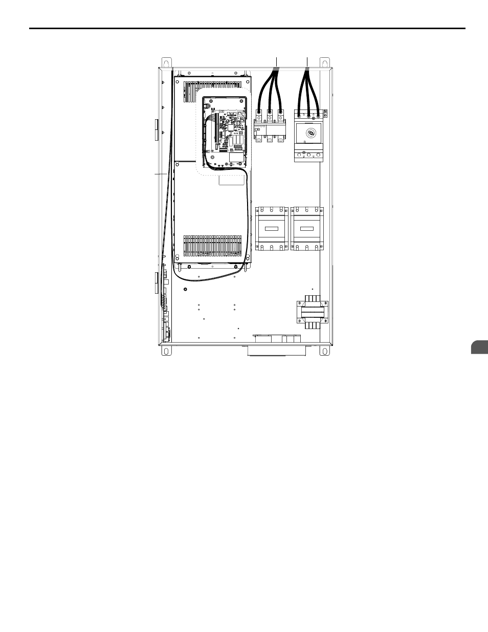 Yaskawa Z1000 Wiring Diagram Explained Diagrams Zx600 Ac Drive Bypass Technical Manual User Page 69