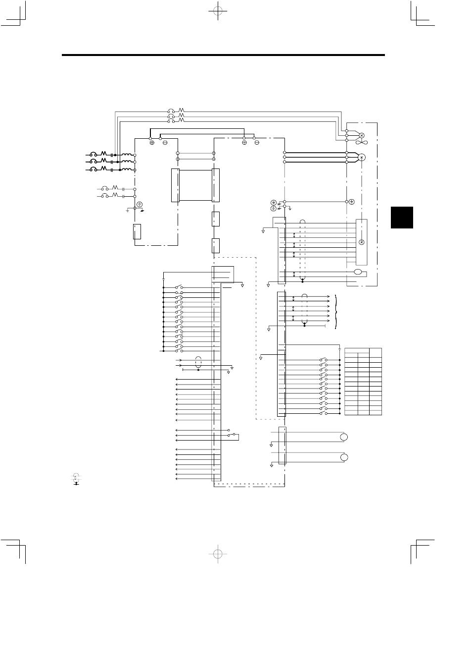 Magnetic Contactor Wiring Diagram 3ph Yaskawa Car Diagrams 2 Connection Varispeed 626m5 User Manual Page 45 Rh Manualsdir Com Pole 3