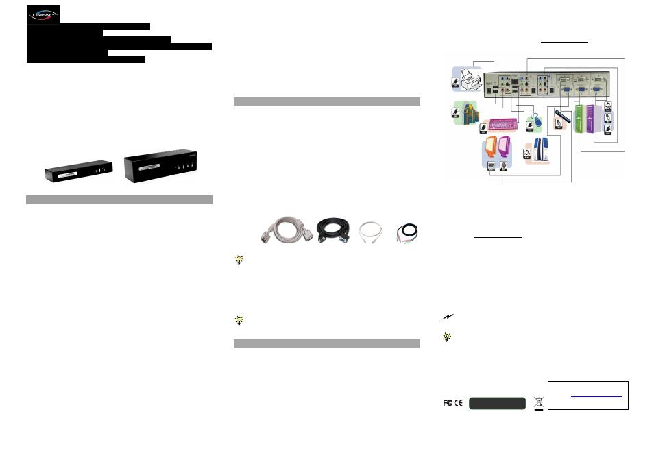 afd25c0af03 background image. Quick Reference Sheet. Applicable models: LDV-DM712AUSK /  LDV-DM714AUSK Dual Monitor DVI KVM Switch w/ Audio&Mic