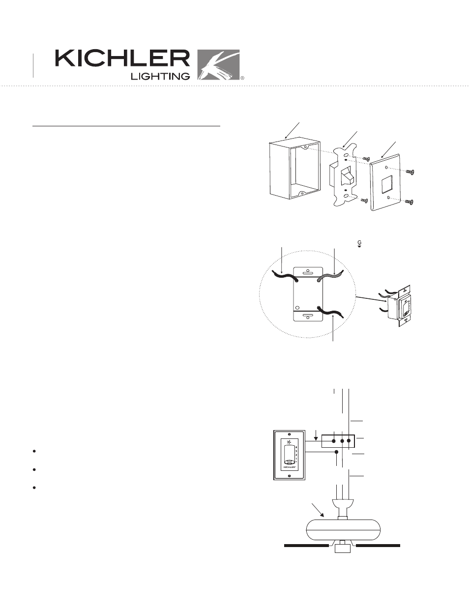 doc001 kichler 337012 user manual 3 pages