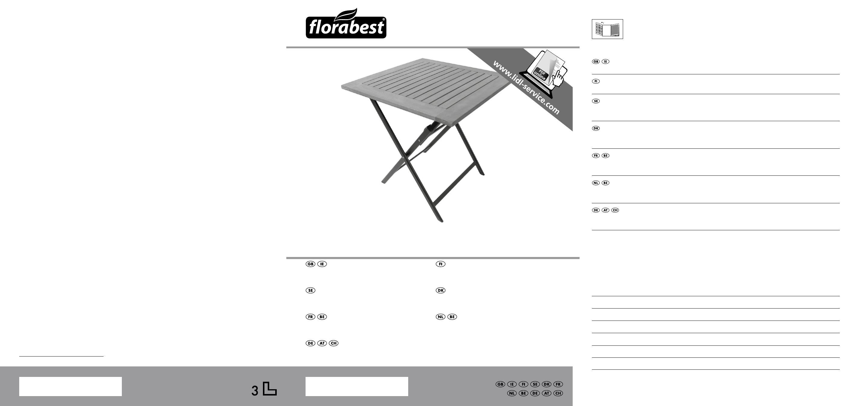 Florabest KT-2070 User Manual | 18 pages