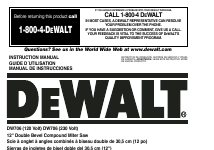 pdf download dewalt dw706 user manual 52 pages rh manualsdir com dewalt owners manuals pdf dewalt owners manual d5515