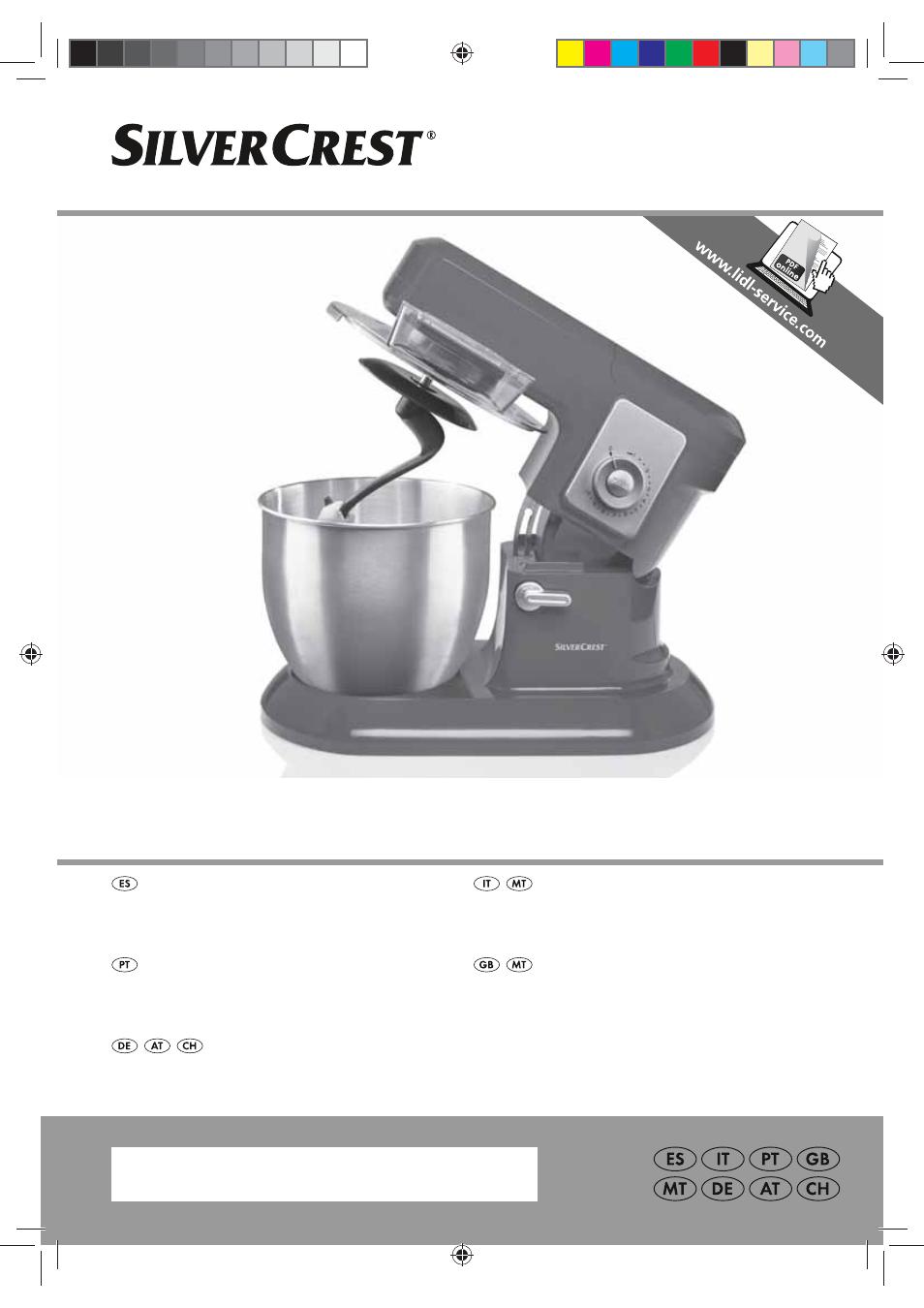 Silvercrest SKMP 1200 A2 User Manual   94 pages