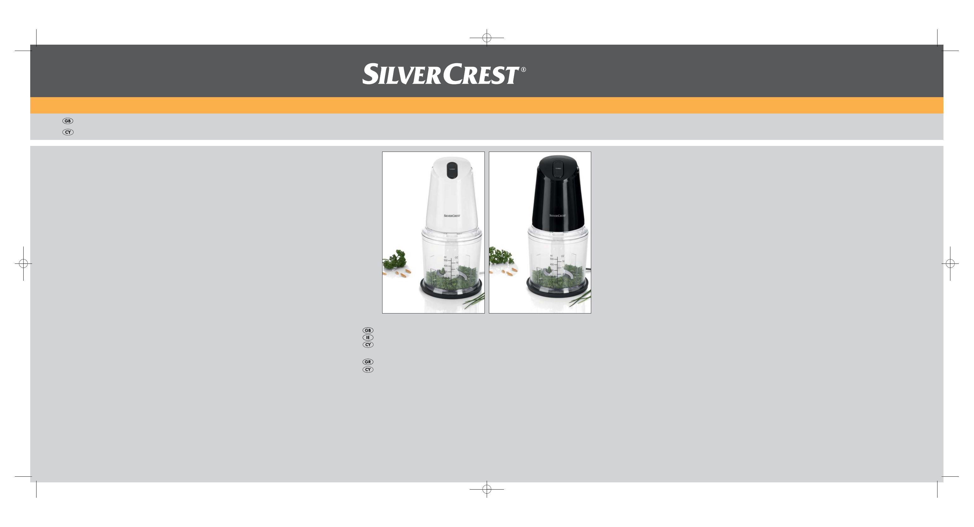 Silvercrest SMZ 260 B1 User Manual | 17 pages