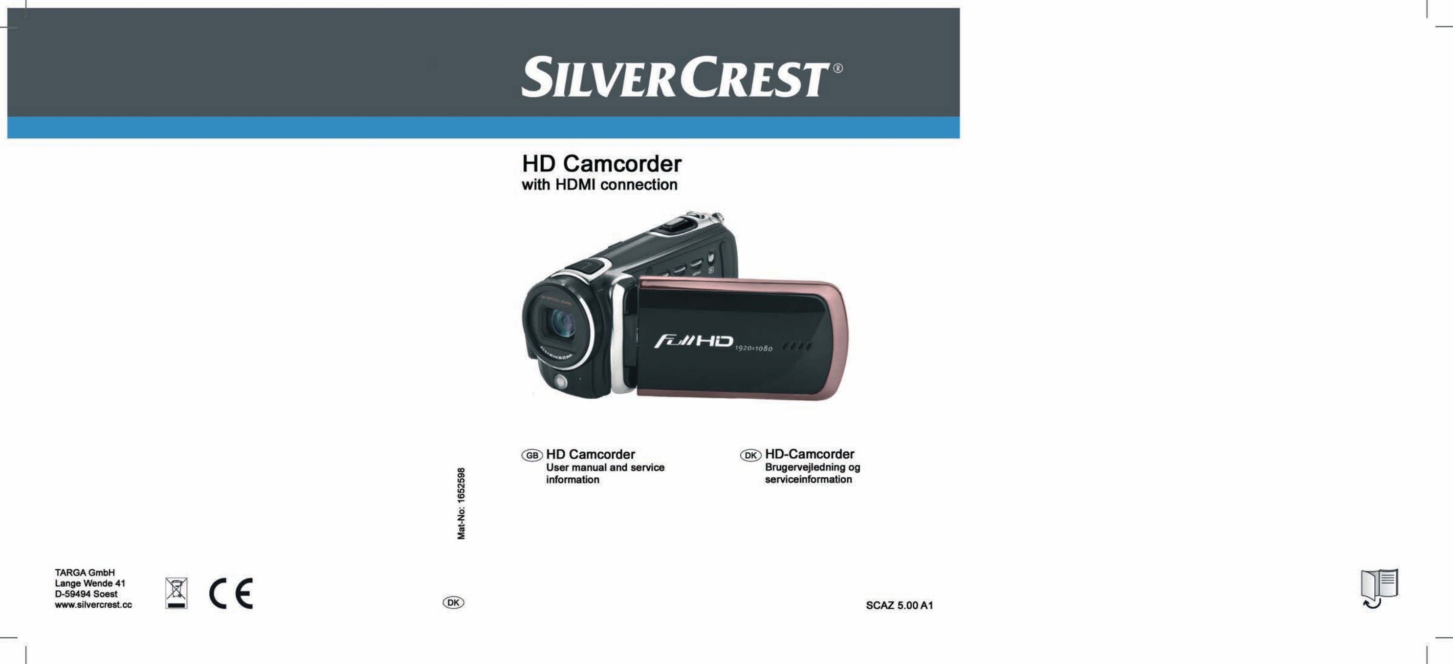 silvercrest scaz 5 00 a1 user manual 155 pages rh manualsdir com advanced portable car camcorder user manual advanced portable car camcorder user manual