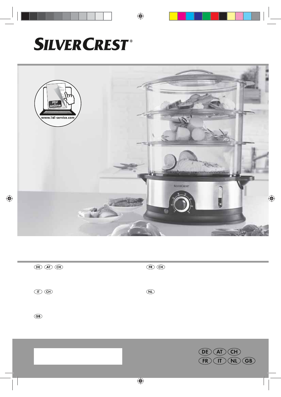 Silvercrest SDG 800 B2 User Manual | 98 pages