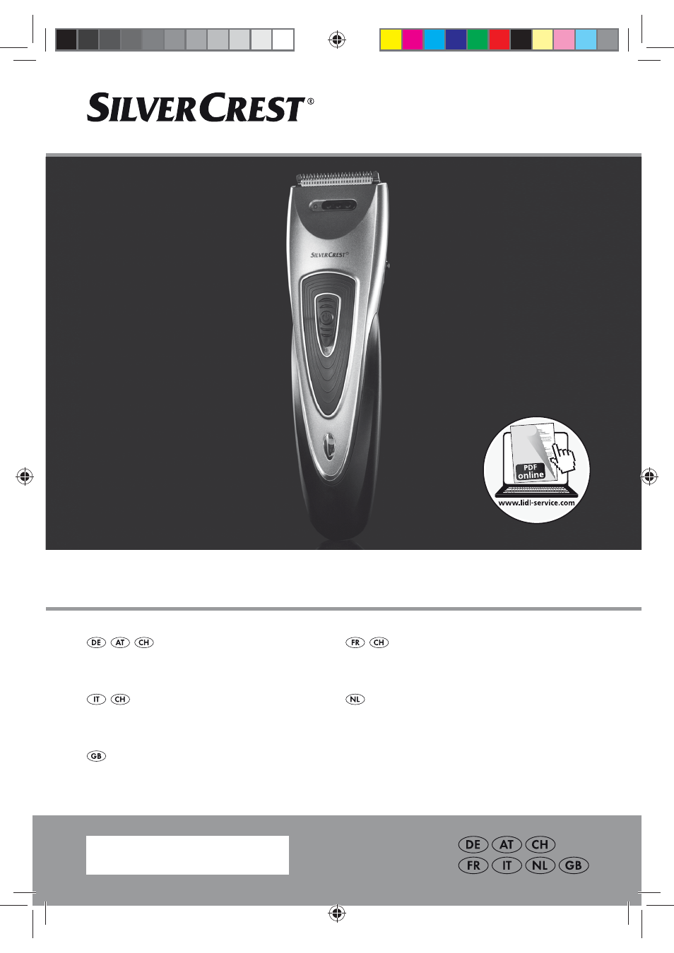 Silvercrest SHBS 500 B1 User Manual 76 pages Also for