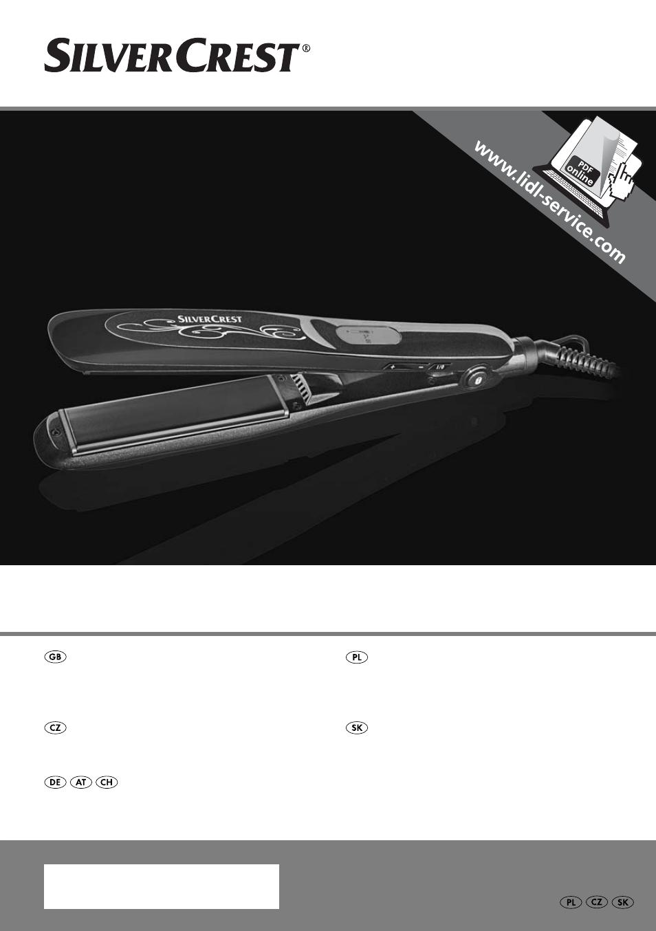 Silvercrest SHGD 40 C1 User Manual  075d57c7420