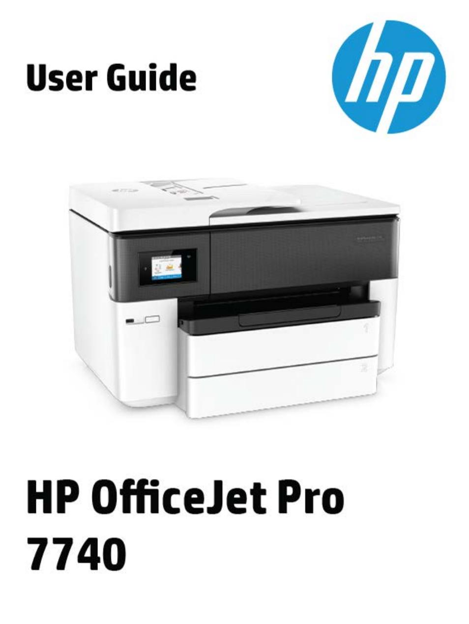 hp officejet 4650 user manual