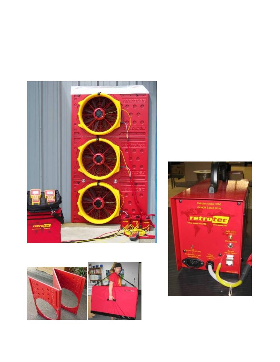 retrotec blower door triple fan system user manual 2 pages rh manualsdir com Blower Door Test Procedure energy conservatory blower door manual
