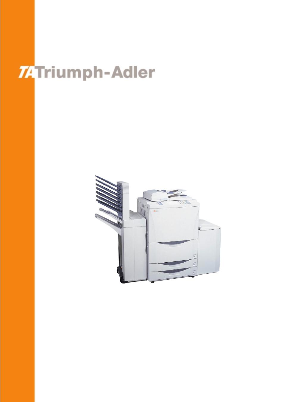 TA Triumph-Adler DC 2062 User Manual   165 pages