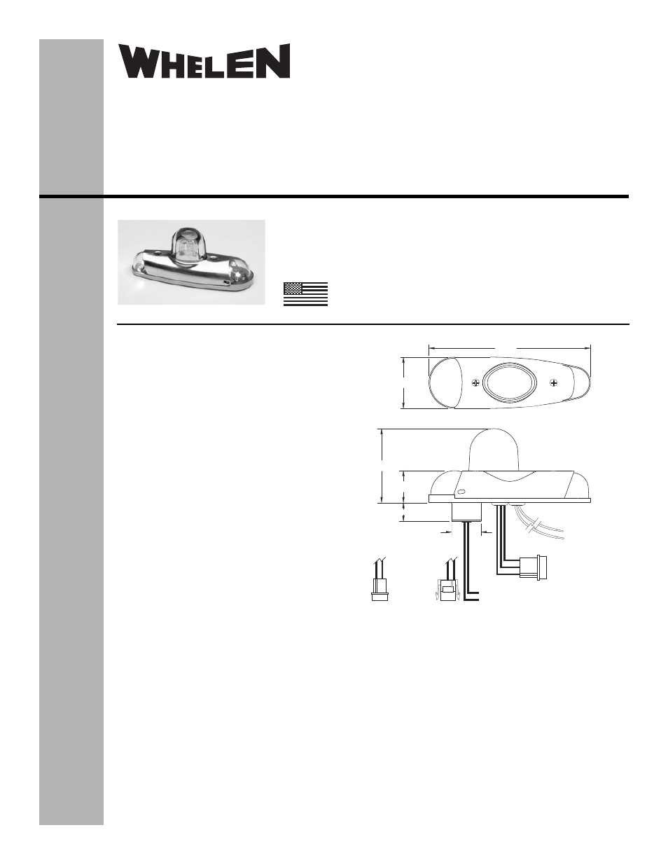 Whelen 90340 series User Manual | 2 pages | Also for ... on