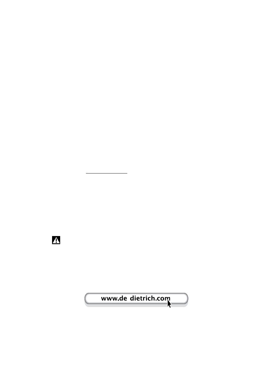 De Dietrich Dvh1150 User Manual 33 Pages Also For Dvh1180gj