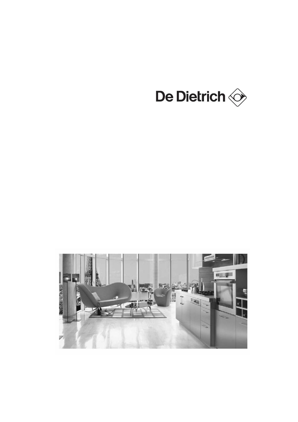 De Dietrich Dvy640 User Manual 19 Pages