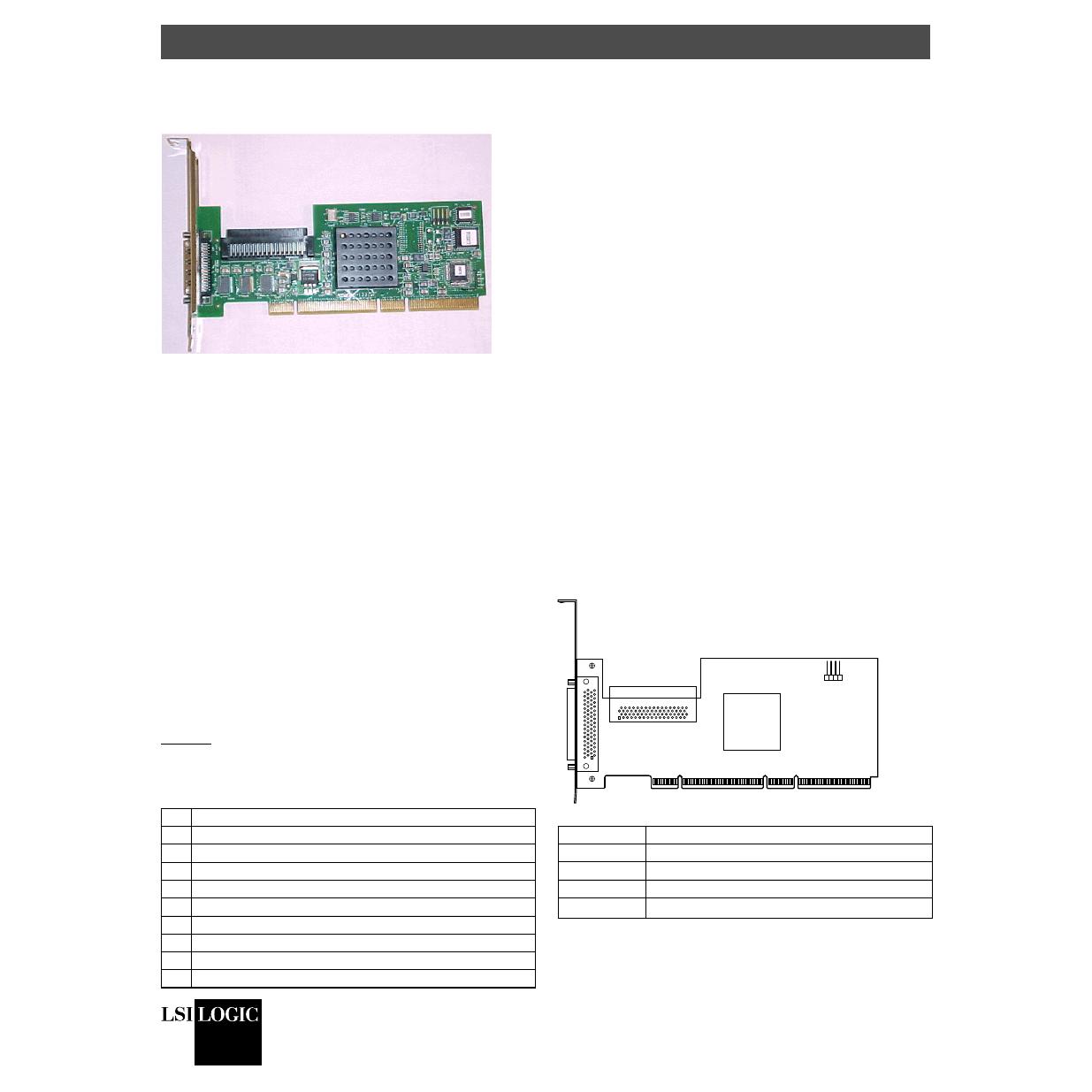 Lsi logic lsi20320-r scsi ultra wide 4 u320 raid controller pci-x.