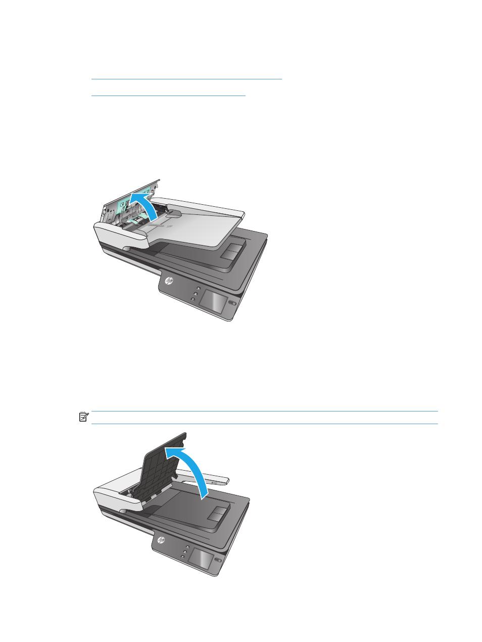 Paper jams | HP ScanJet Pro 4500 fn1 User Manual | Page 50 / 64