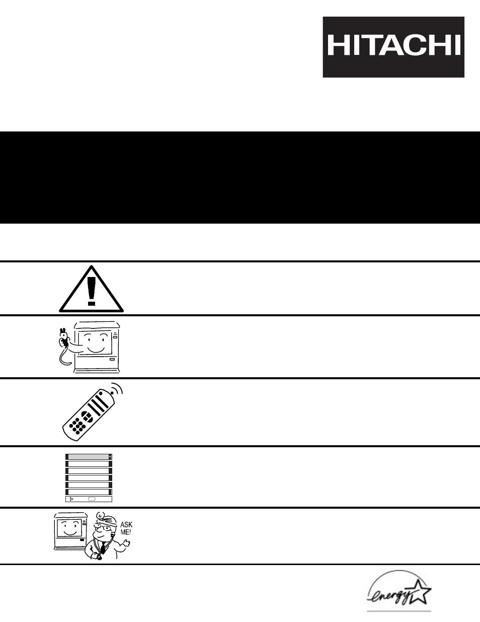 hitachi 50v500 user manual 84 pages rh manualsdir com AT&T LG A340 Manual Hitachi StarBoard Manual