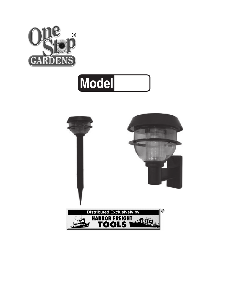 harbor freight tools solar light with wall mount and stake 90729 user manual 7 pages. Black Bedroom Furniture Sets. Home Design Ideas