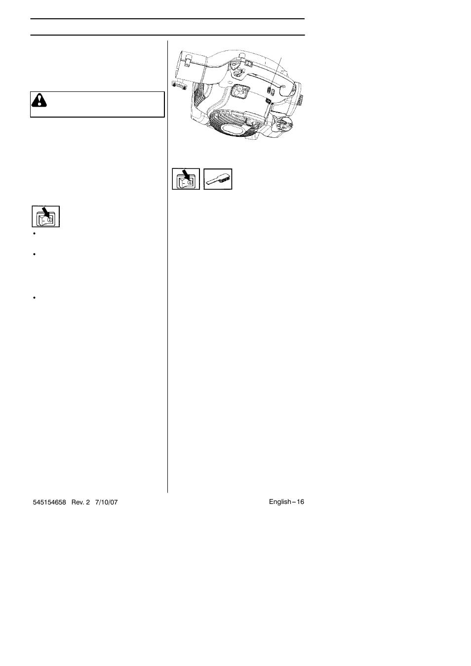 Maintenance | Husqvarna 125B User Manual | Page 16 / 47