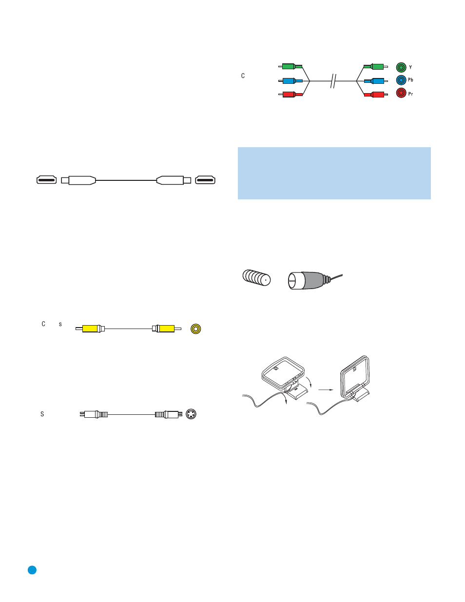 Connections, Antennas | Harman-Kardon AVR 154 User Manual