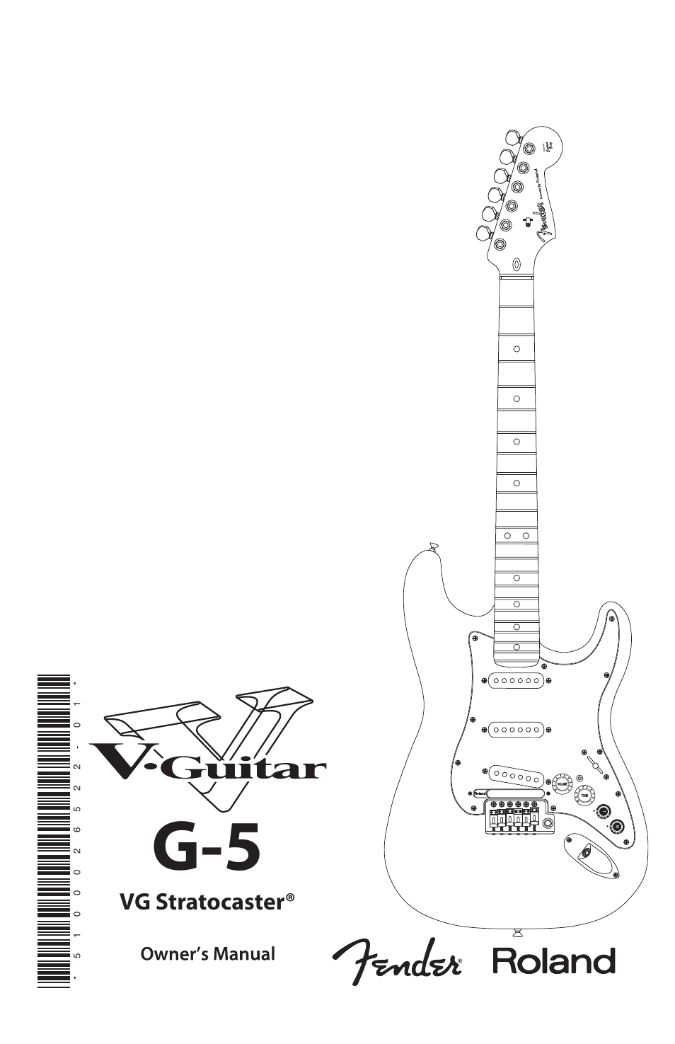 Fender Vg Strat Wiring Diagram Start Building A American Deluxe Roland G 5 Stratocaster User Manual 18 Pages Rh Manualsdir Com Way Switch