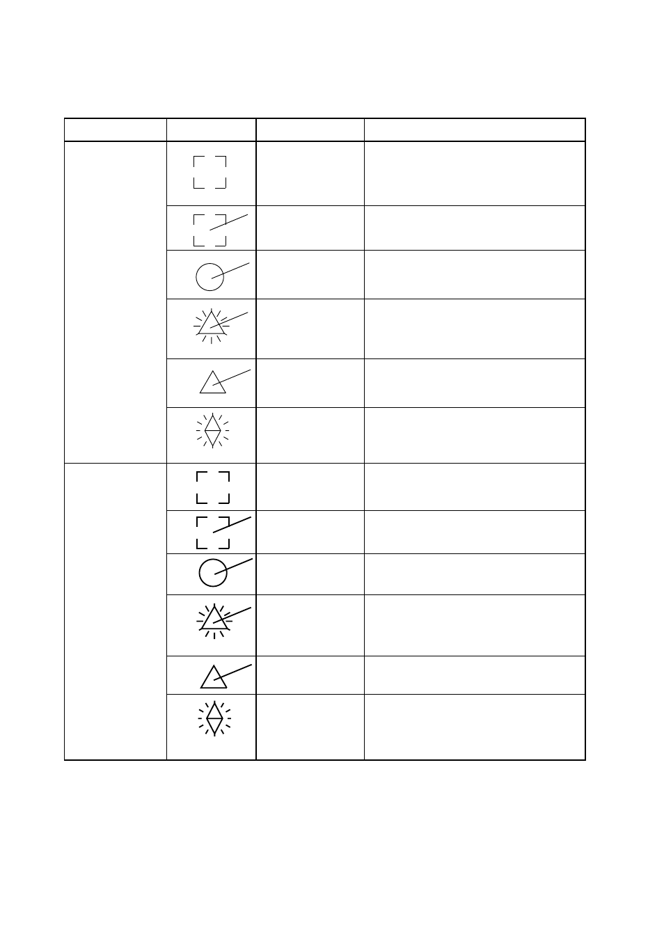 Arpa Symbols Furuno Fr 2805 Series User Manual Page 69 169