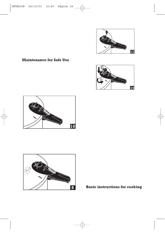 maintenance for safe use basic instructions for cooking fagor rh manualsdir com pressure cooker manual presto pressure cooker manual presto