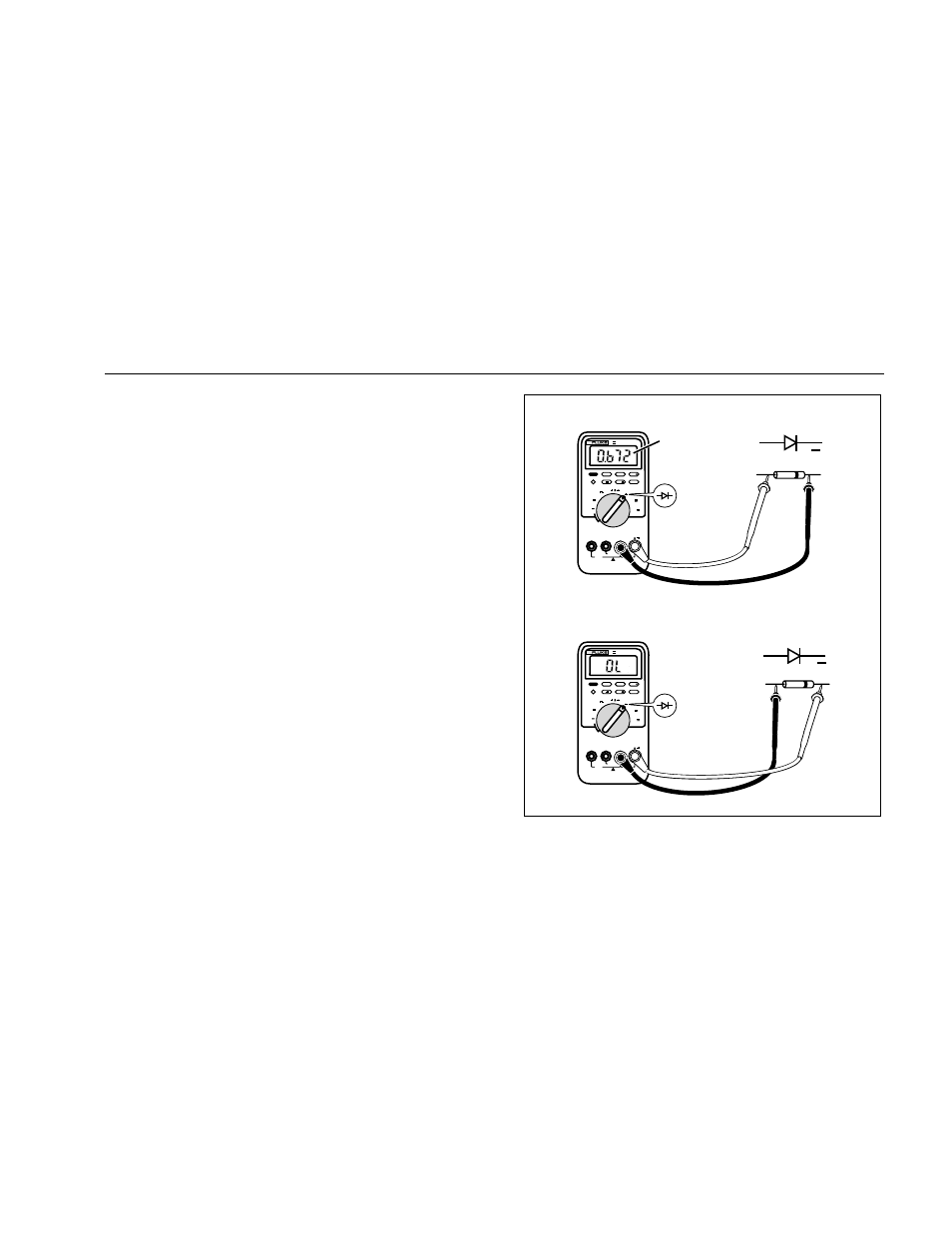 Diode Testing Tester Circuit Diodes Making Measurements Fluke Iii User Manual Page 954x1235