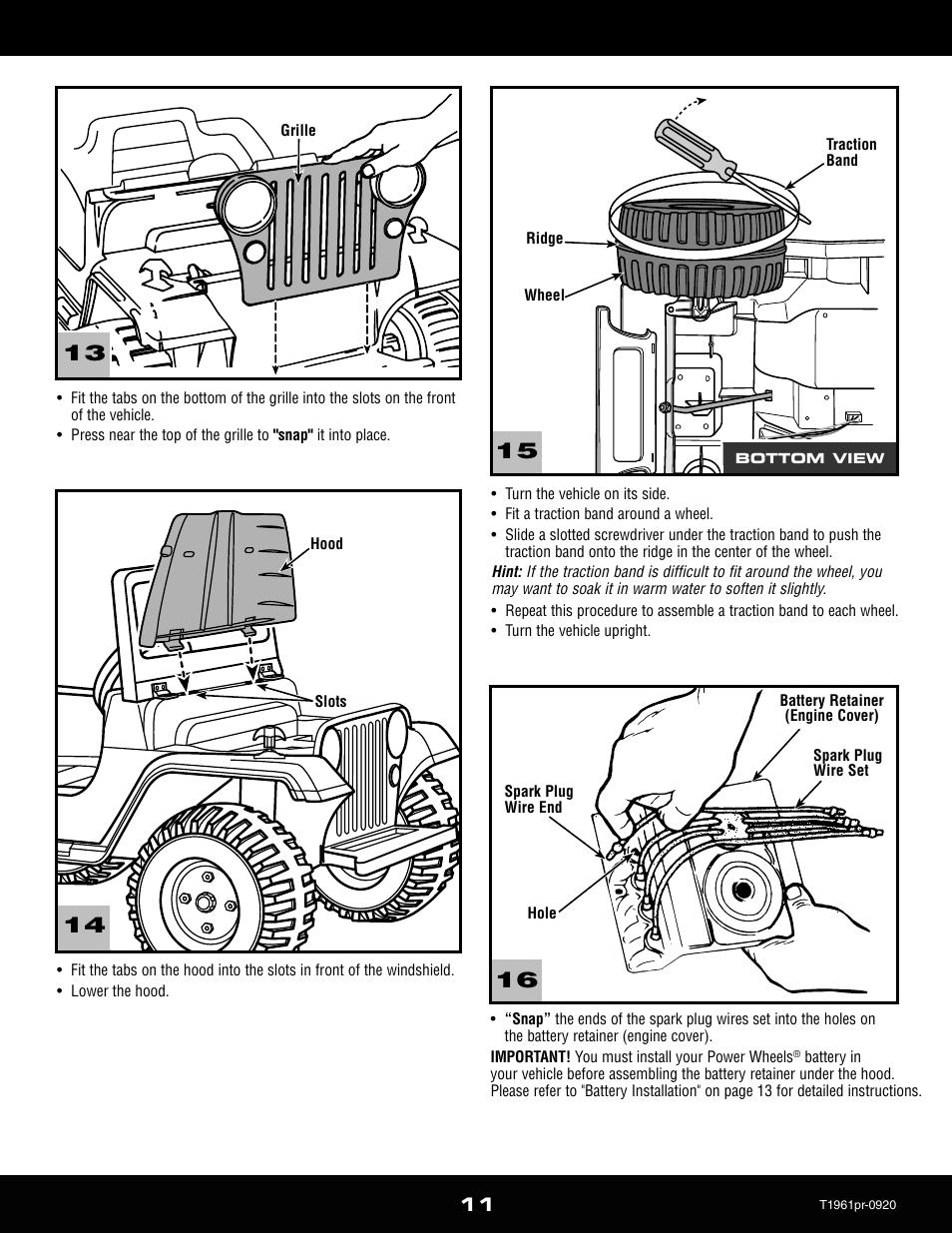 Barbie Jeep Wrangler Wiring | Wiring Liry on
