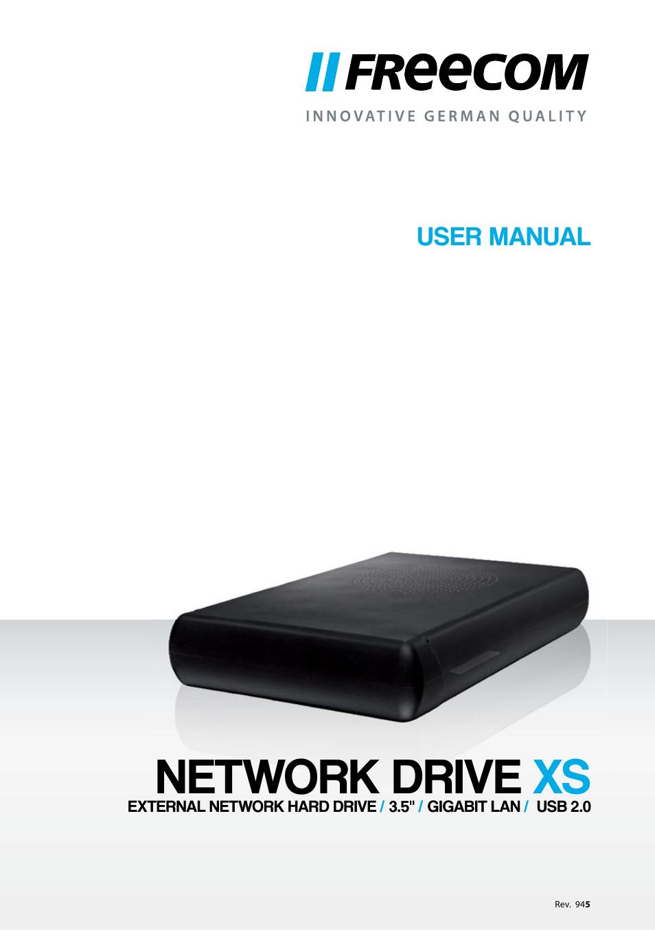 Freecom network drive pro 500gb youtube.