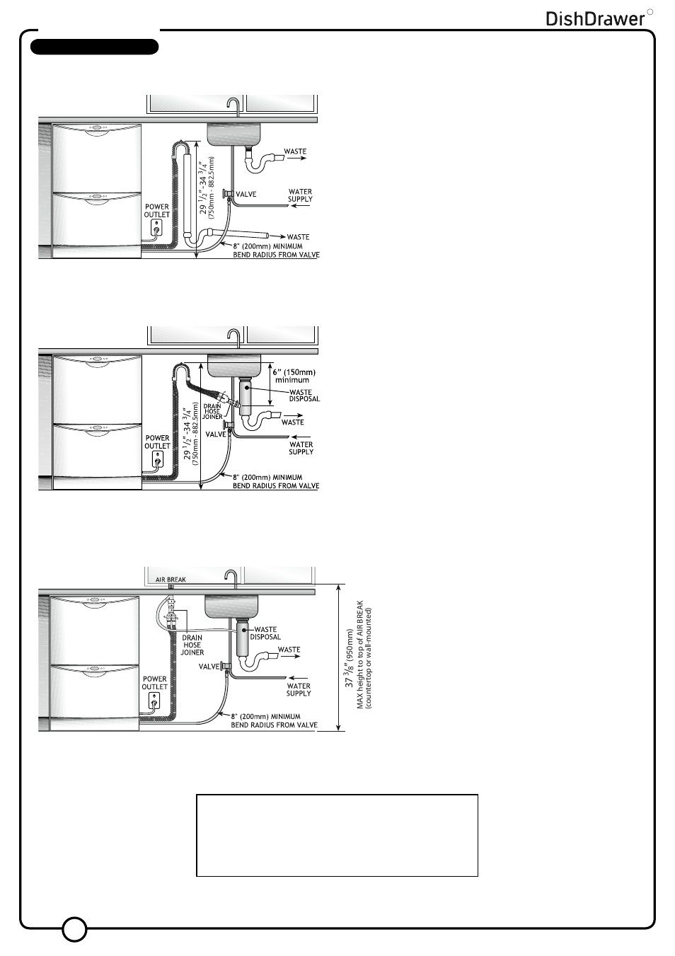 Double Models Plumbing Options Fisher Amp Paykel V3 Ds603