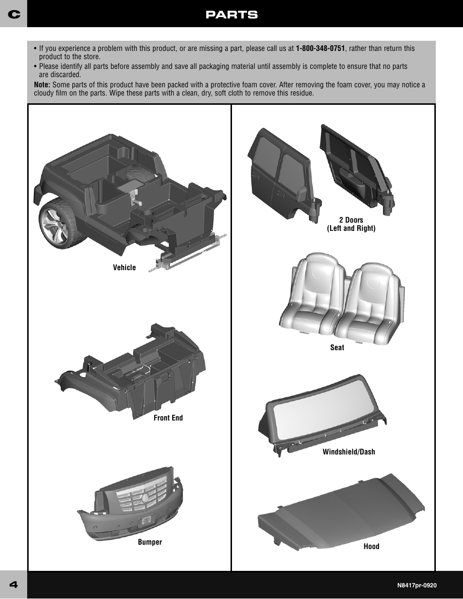 parts fisher price cadillac escalade custom edition power wheels n8417 user manual page 4 32 fisher price cadillac escalade custom