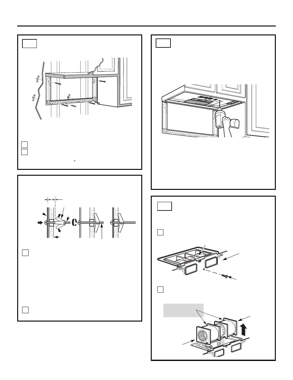 installation instructions frigidaire 316495063 user manual page rh manualsdir com frigidaire microwave fpbm189kf installation manual frigidaire gallery microwave installation instructions