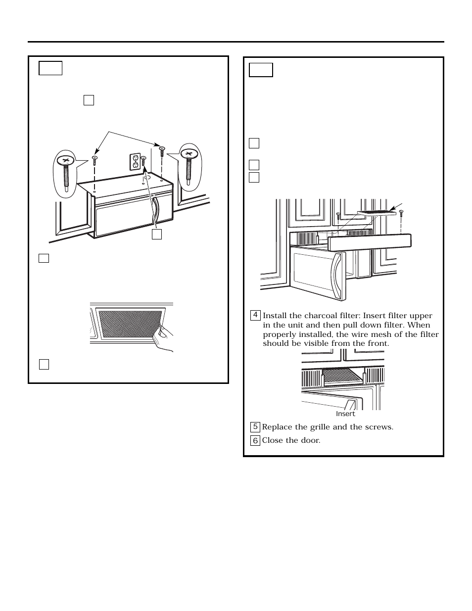 installation instructions mount the microwave oven cont c4 22 rh manualsdir com frigidaire microwave user manual frigidaire gallery microwave installation instructions