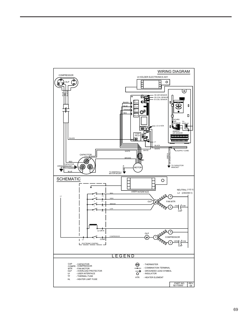 schematic wiring diagram friedrich kuhl r 410a user manual page rh manualsdir com Speed Queen Wiring Diagrams Thomas Wiring Diagrams
