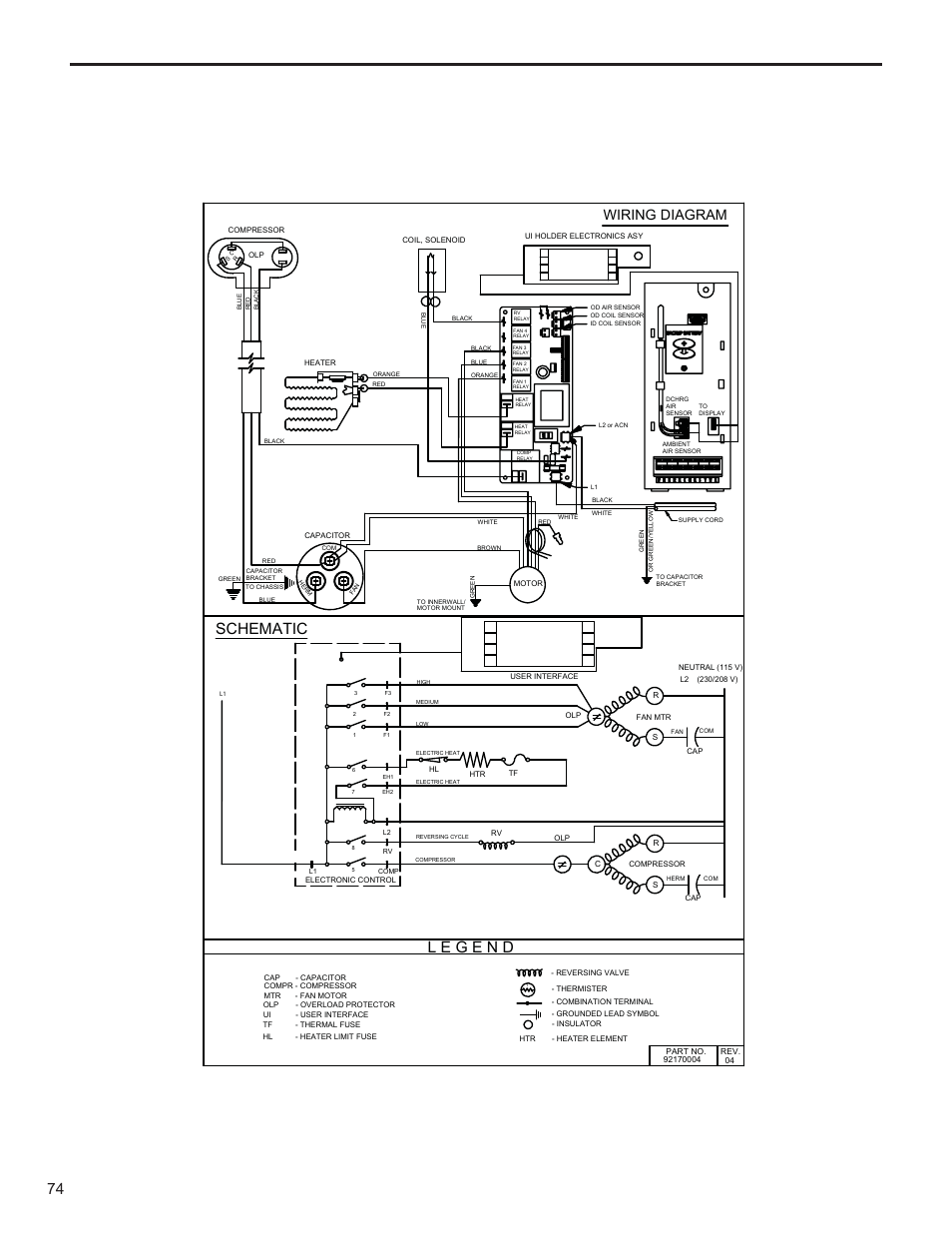 Schematic Wiring Diagram Friedrich Kuhl R 410a User Manual Page