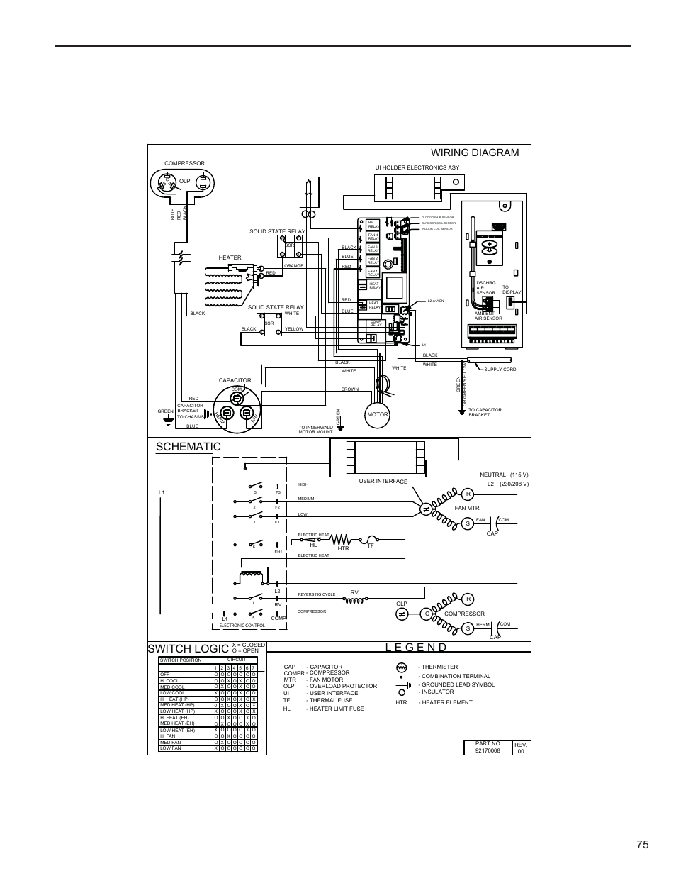 Schematic  Switch Logic  Wiring Diagram