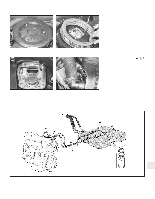 Fiat Uno 45 User Manual Page 186 303 Also For 55 60 Fuel Pump Diagram 70 11 14 903cc 999cc 1116cc 1299cc 1301