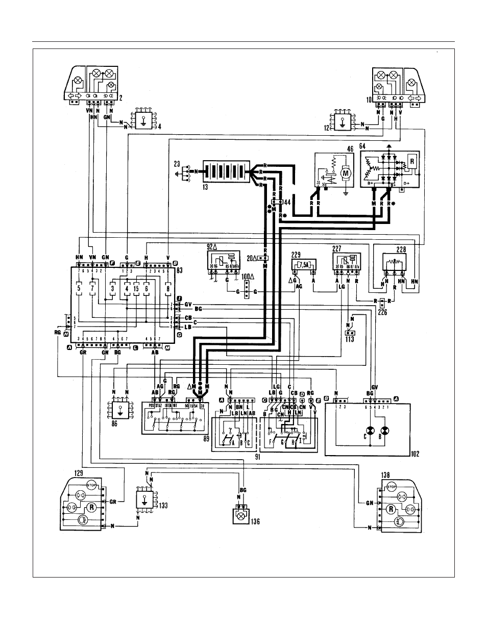 Wiring Diagram For Fiat Uno Library Fuse Box 1426 Diagrams 45 User Manual Page 265 303