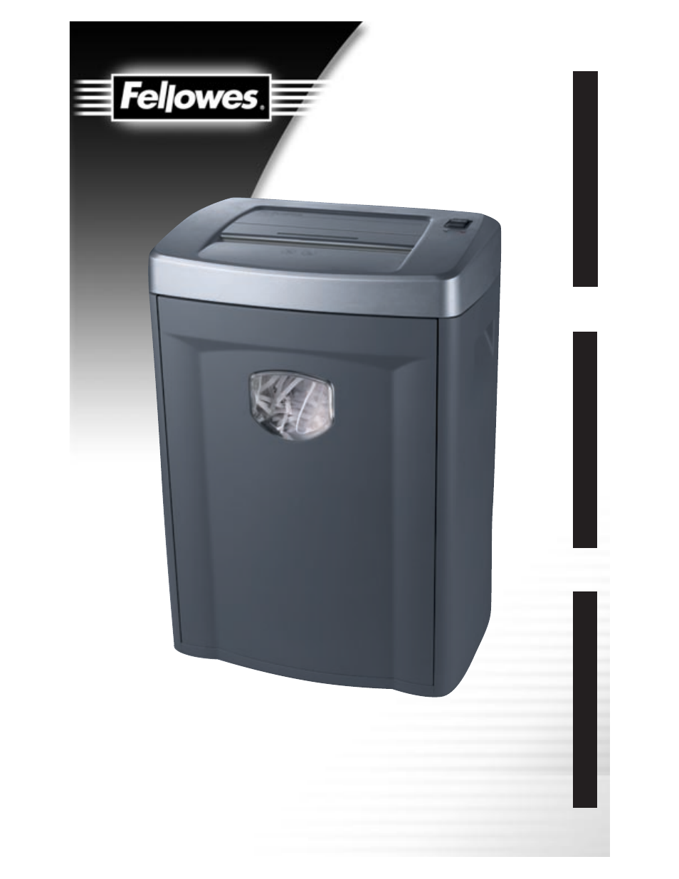 fellowes ps70 2 user manual 8 pages