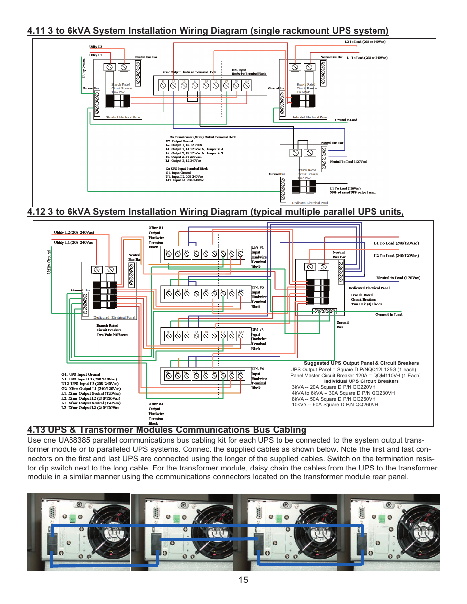 Rack Mounted Ups Wiring Diagram | Wiring Diagram on