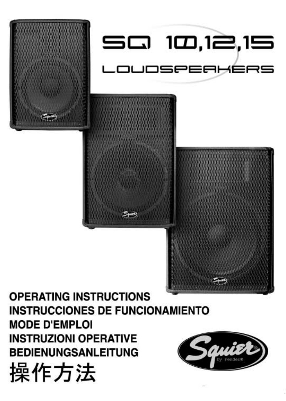 fender squier sq 10 user manual 8 pages also for squier sq 12 rh manualsdir com Fender Squier Guitar Fender Squier Mini