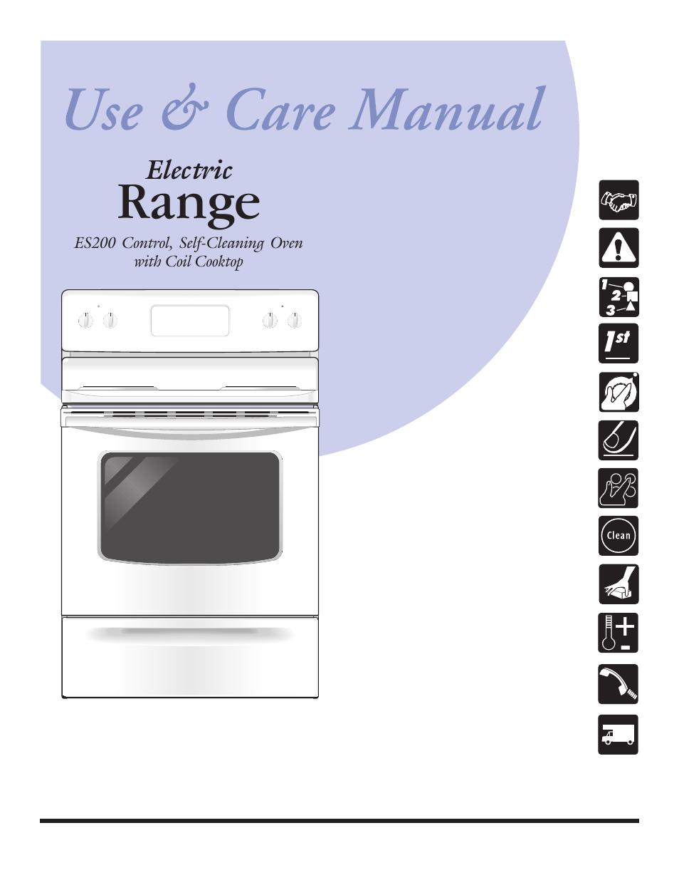 Frigidaire Es200 User Manual Manual Guide