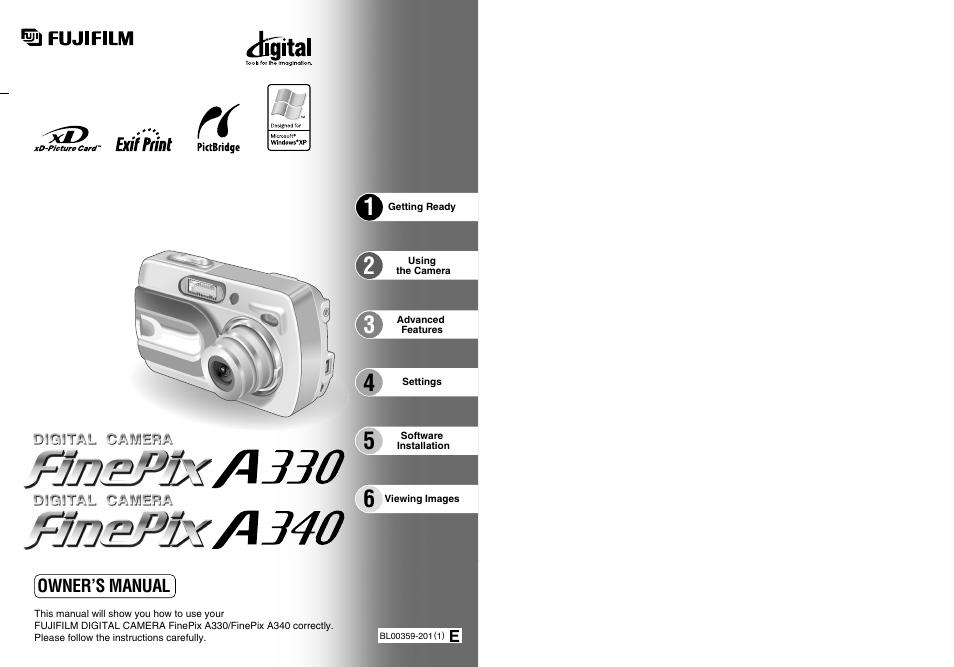 fujifilm a330 user manual 47 pages also for a340 rh manualsdir com Fuji FinePix SLR Camera Fuji FinePix SLR Camera